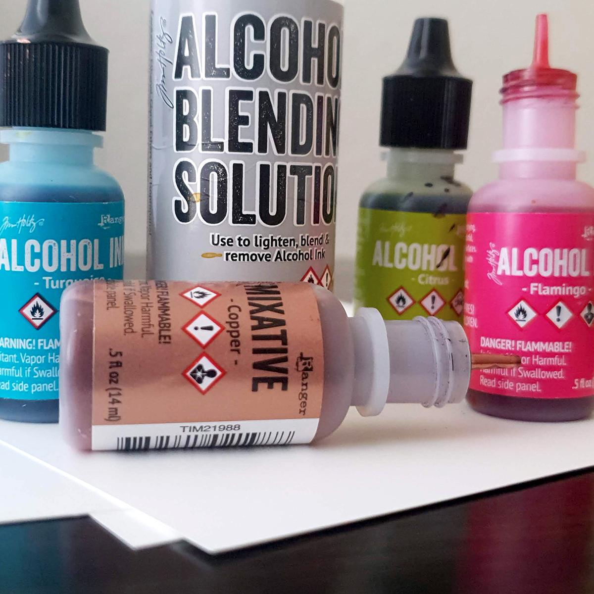 Startsæt - Alkohol ink