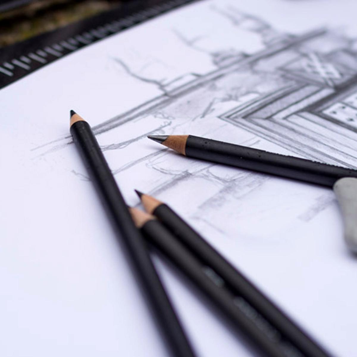 Grafit blyanter