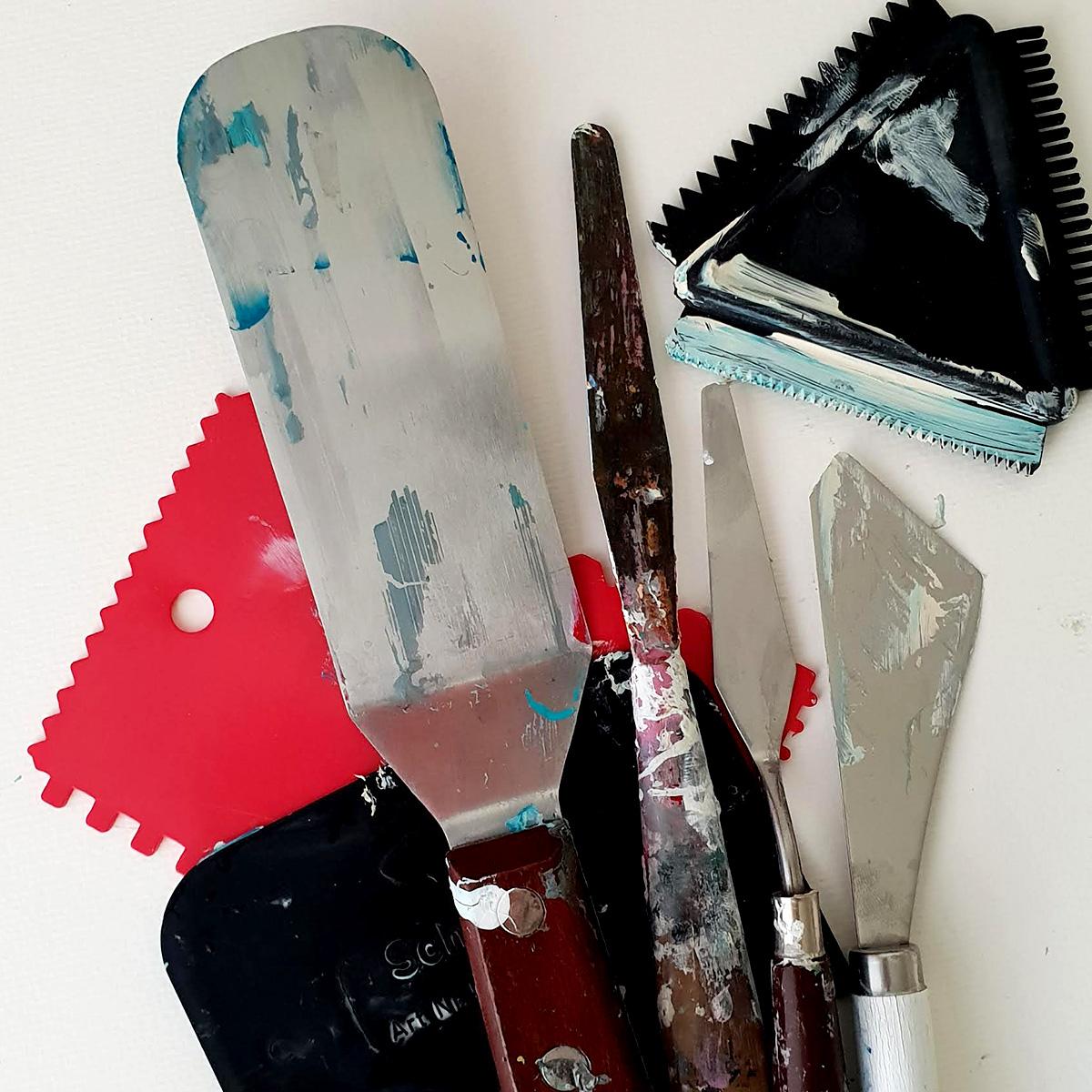 Paletknive og spartler