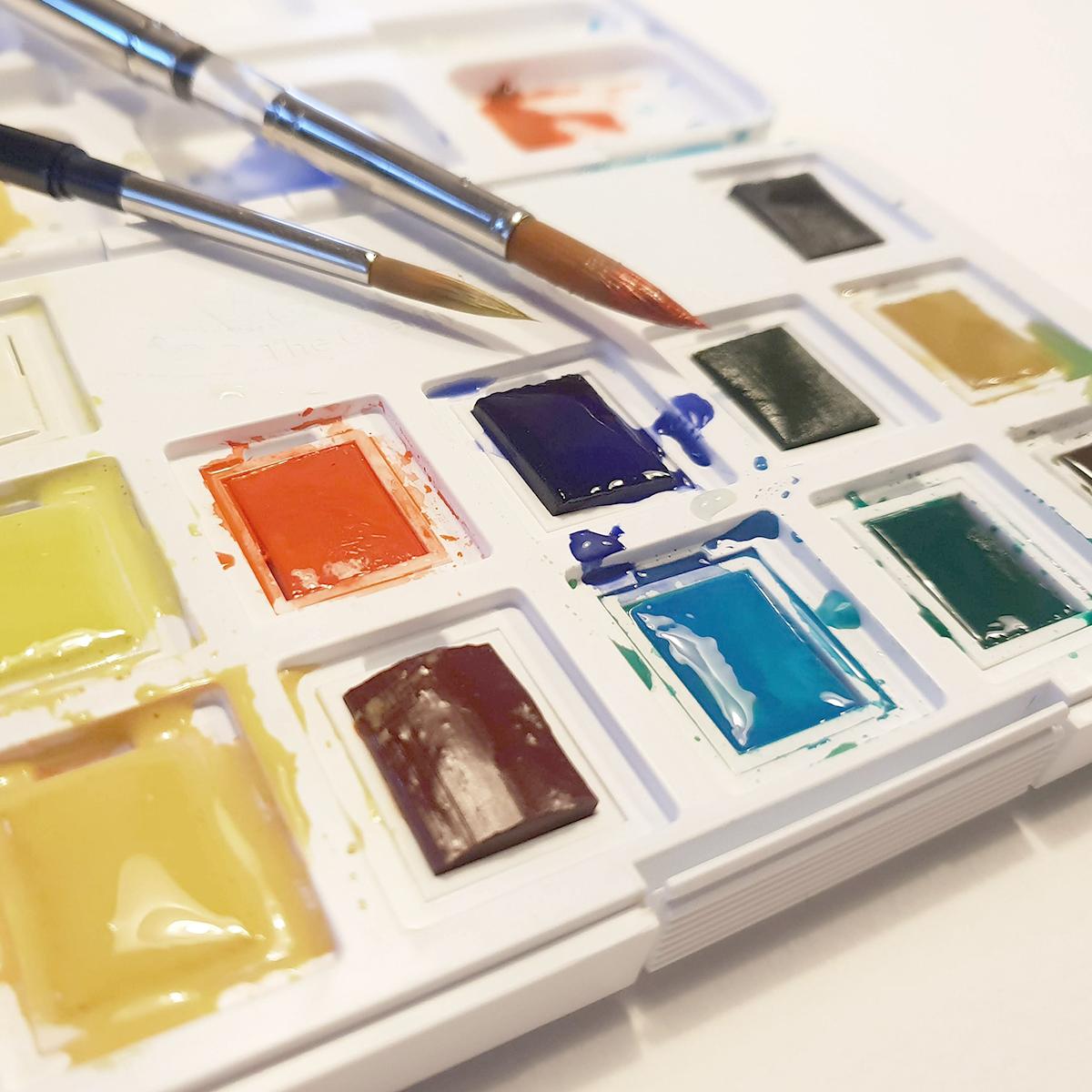 Akvarelsæt