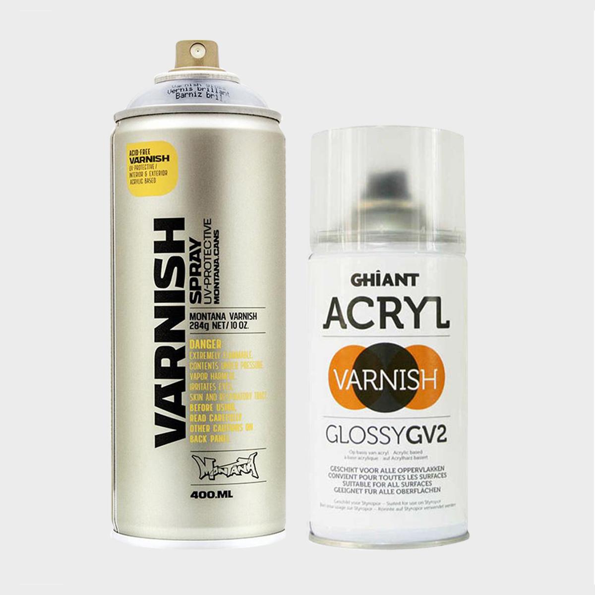 Spray lak
