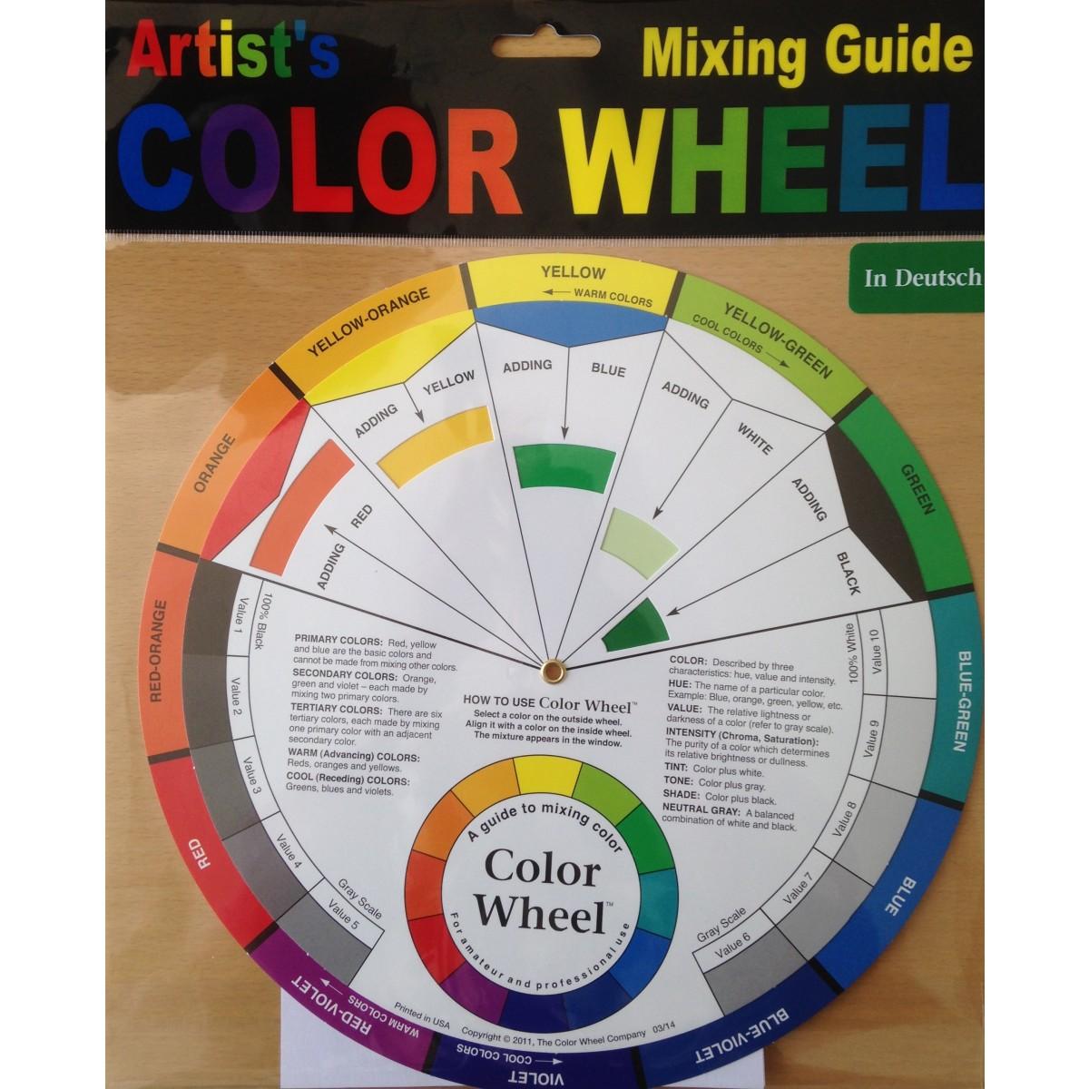 Farvehjul, 23,5 cm