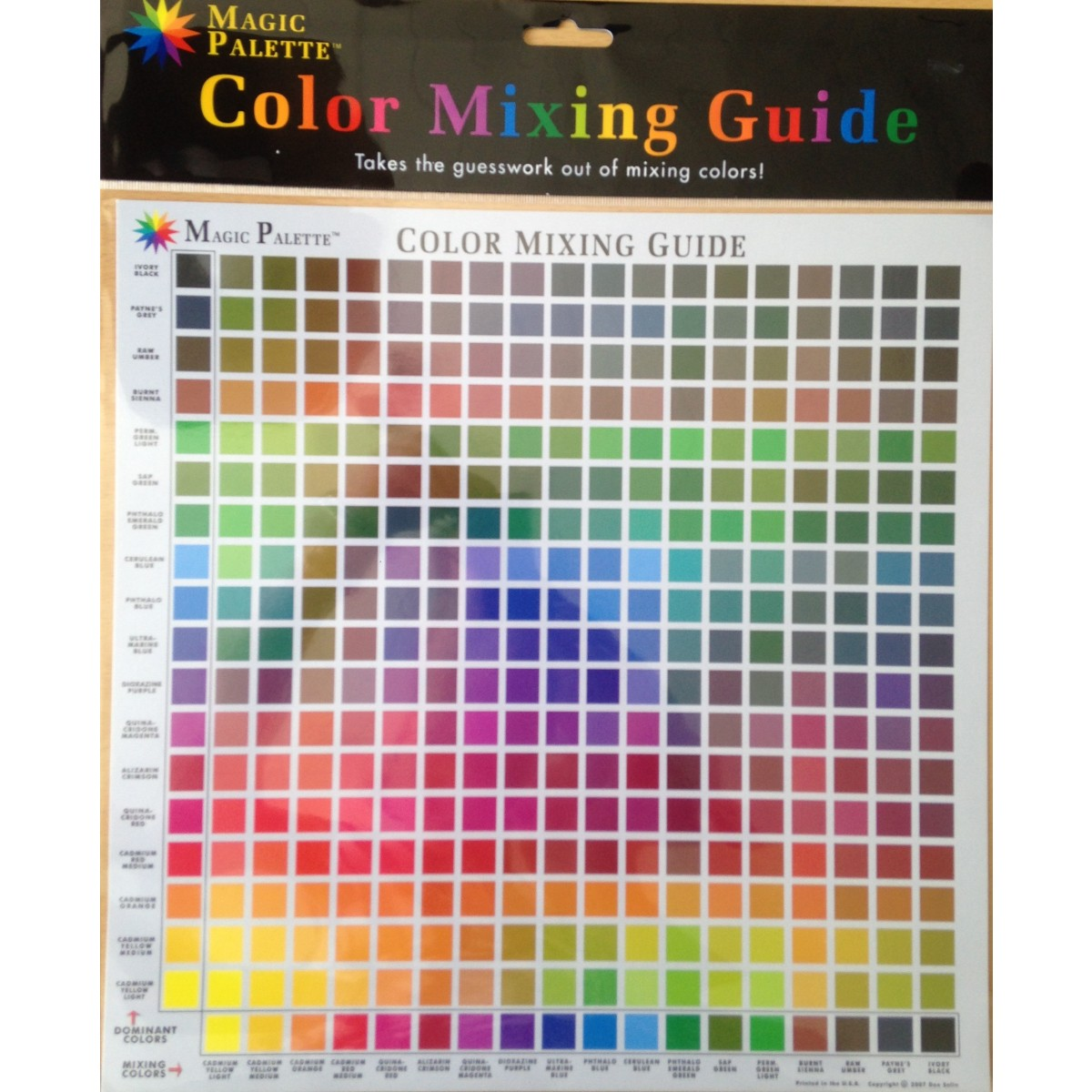 Color Mixing Guide no.1