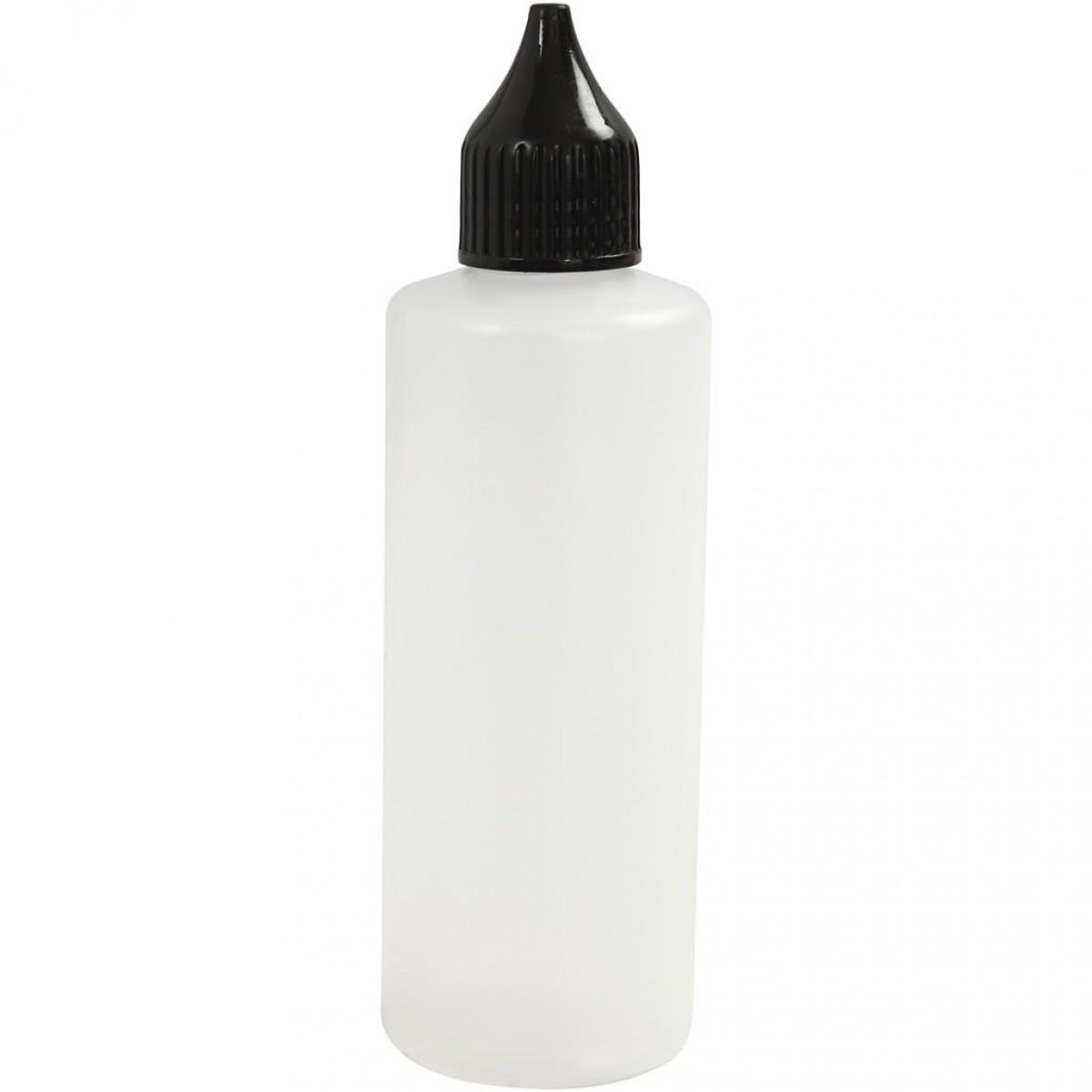 Tegneflaske 80ml inkl. tud og låg (tom)