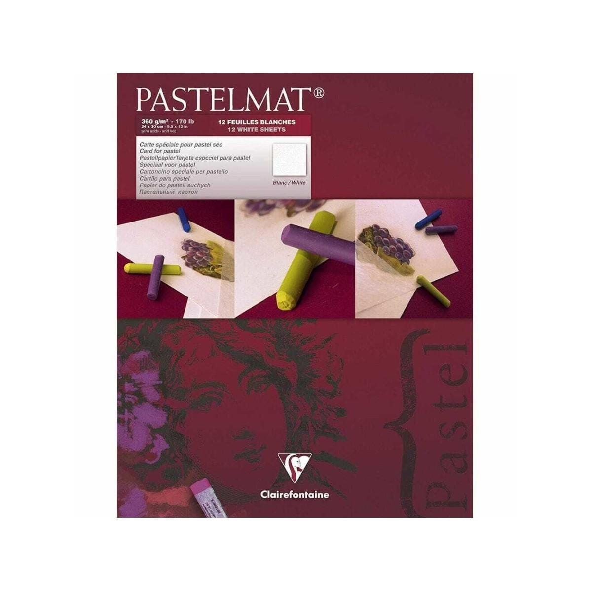 ClairefontainePastelmatpastelpapirblok360g12arkhvidt-01