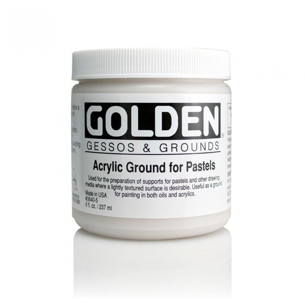 GOLDEN Ground for Pastels 237ml.