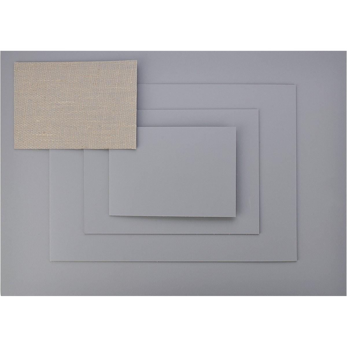 Linoleum, professionel, mat, grå