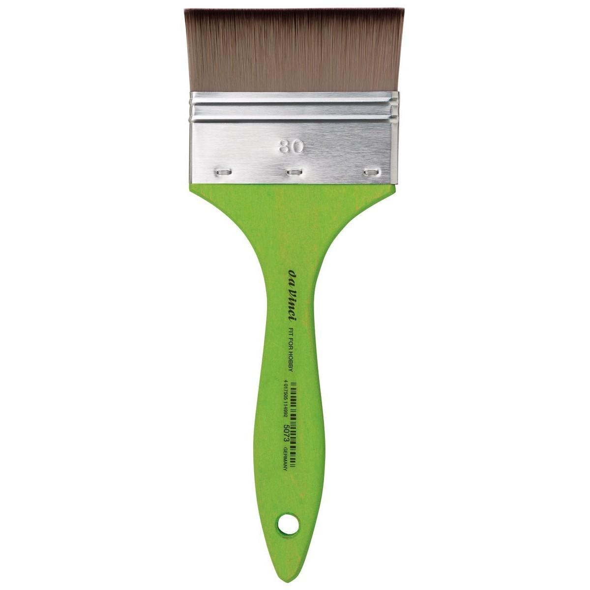 da Vinci, Mottler pensel, grøn