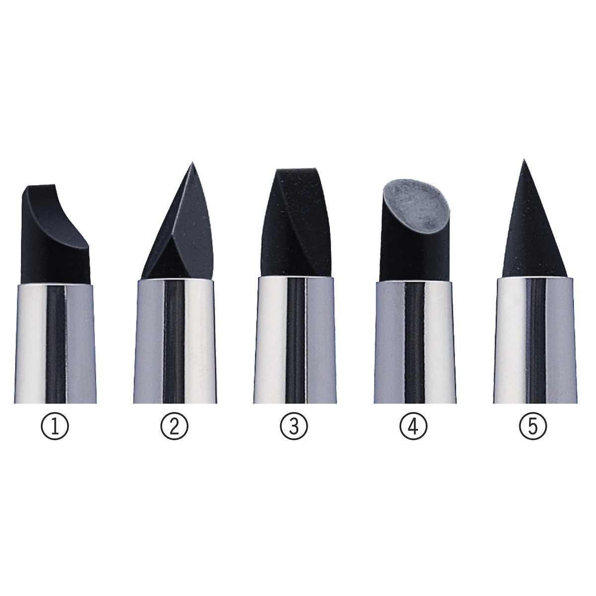 Colour Shaper, gummi, str. 10, 5 typer i pakke