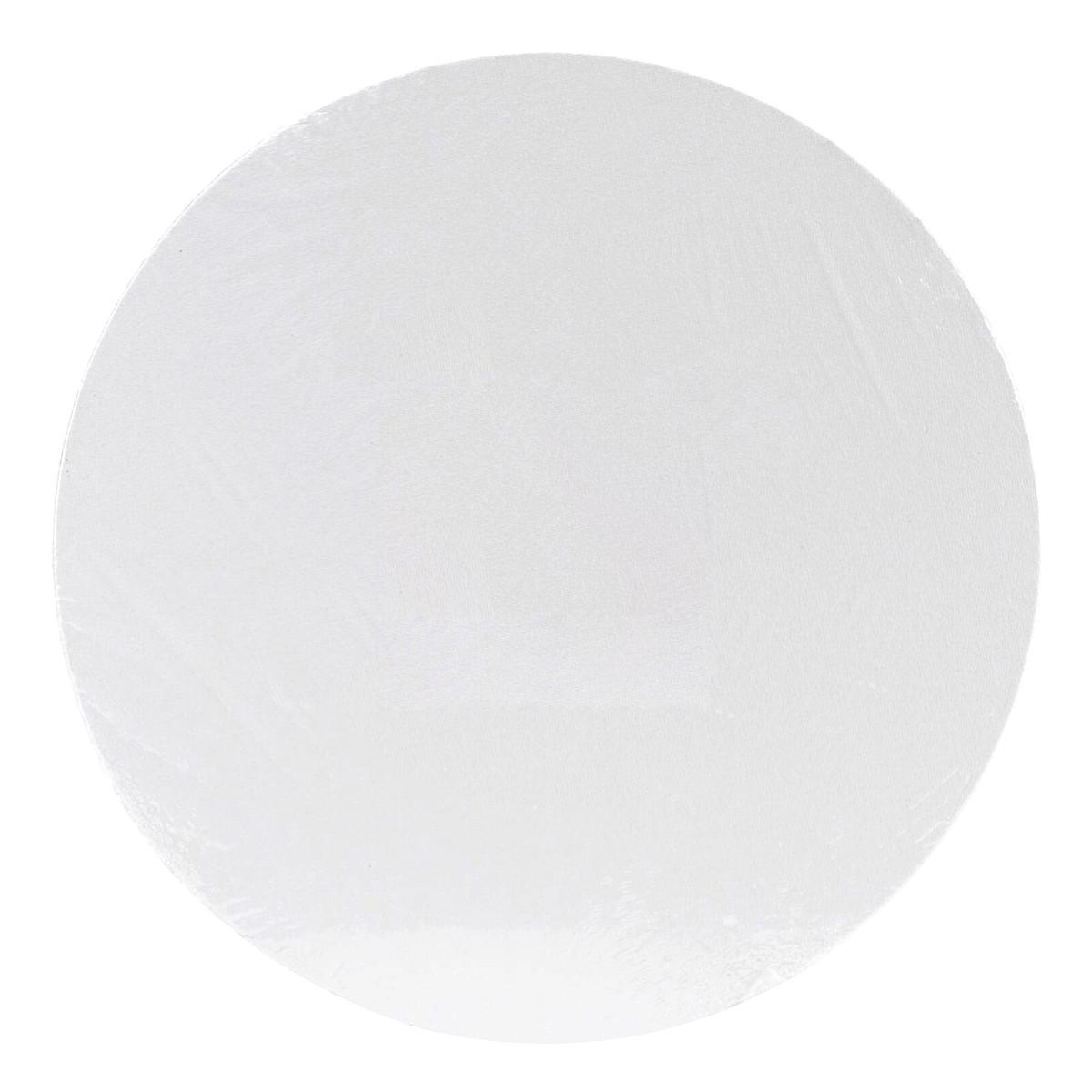 Canvas board, pap, runde, Ø 40 cm