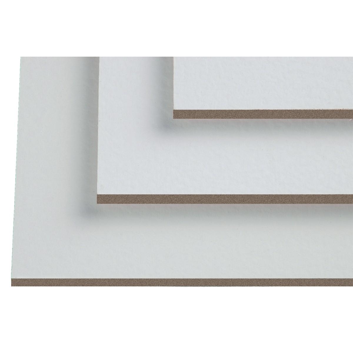 Maleplade m. lærred, 60 x 80