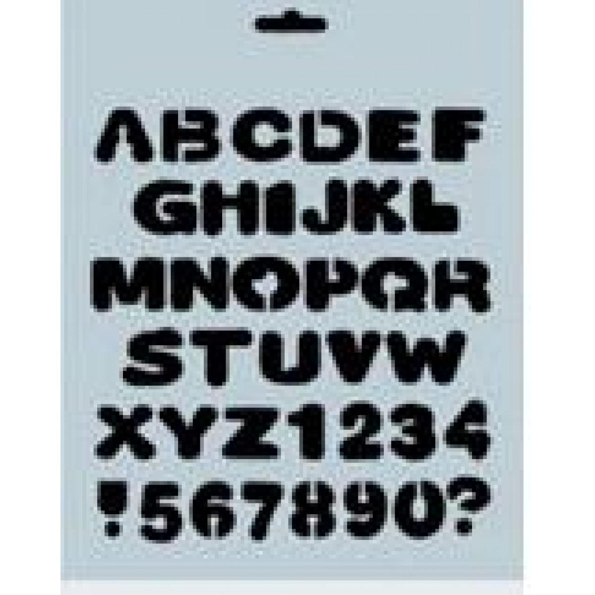 Stencil 28017