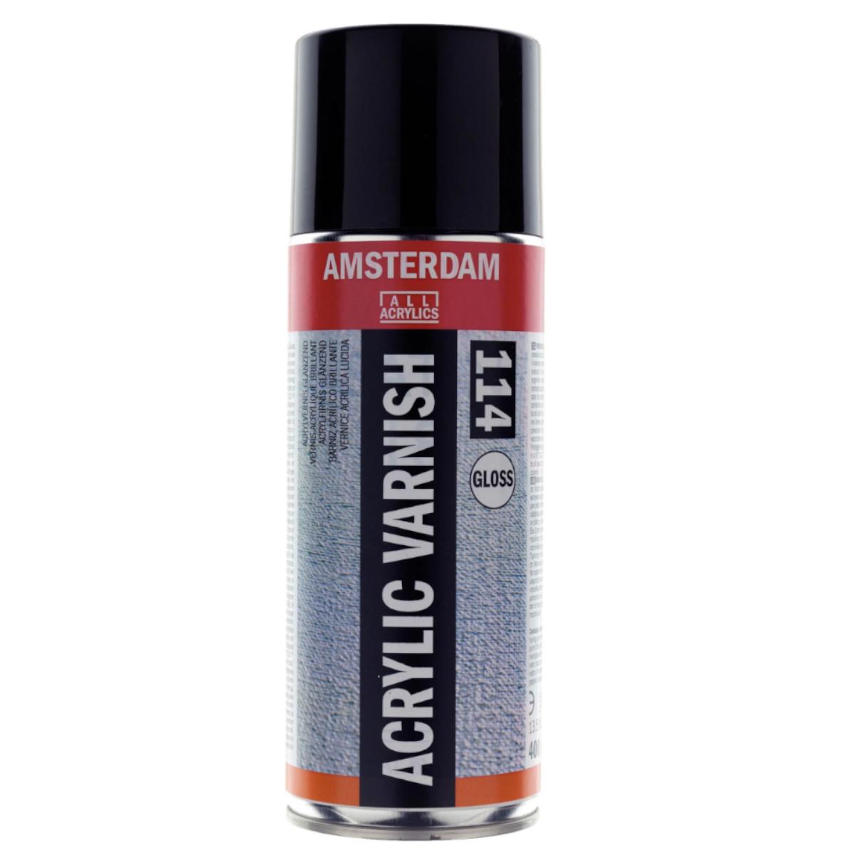 Amsterdam, Acrylic Varnish, 114, gloss, 400 ml.