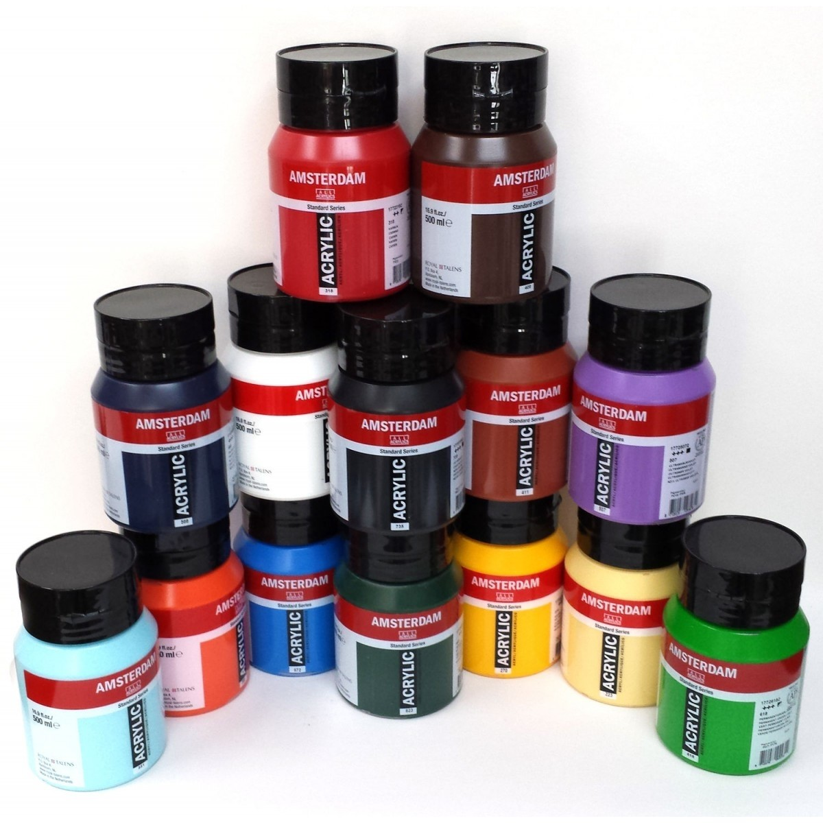 AMSTERDAM akrylmaling - 500 ml. FAST LAVPRIS