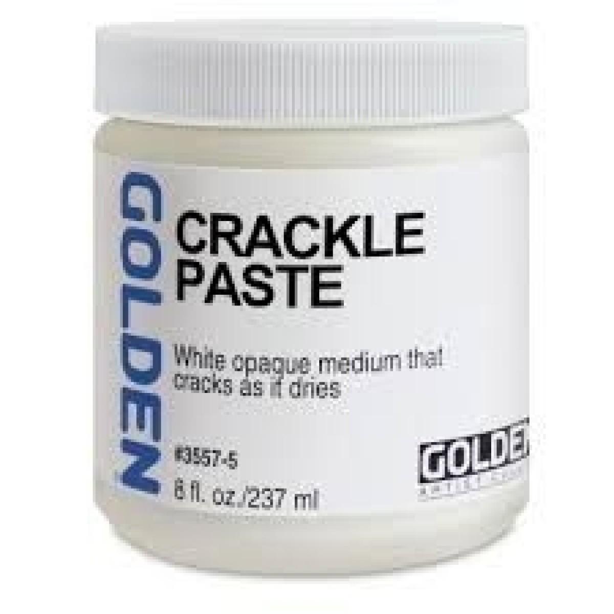 GOLDEN Crackle Paste 237ml.
