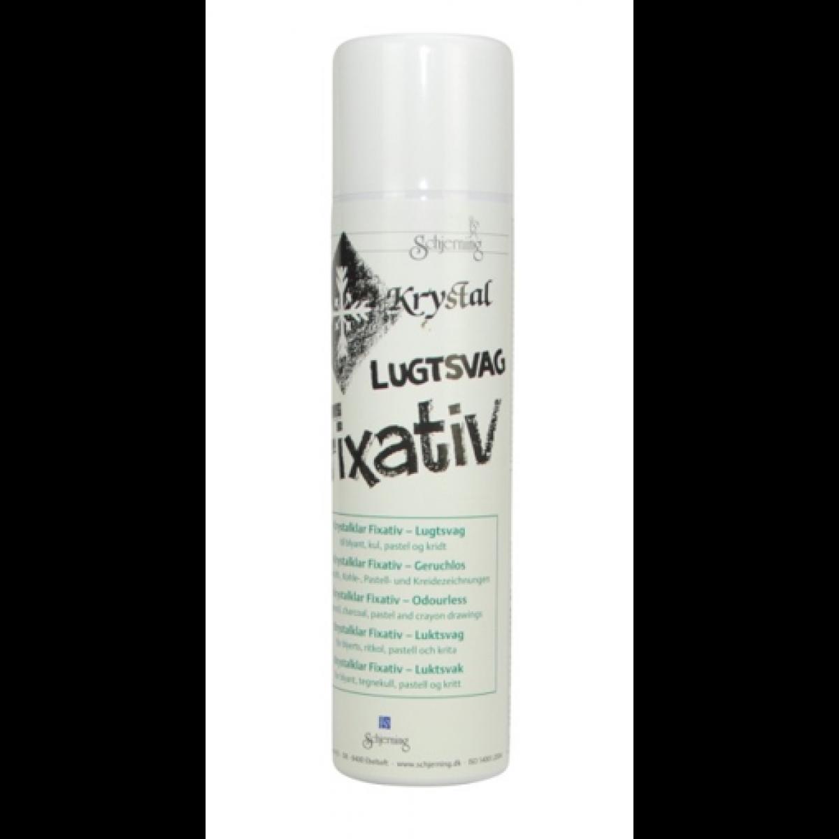 Fixativ spray, Schjerning, lugtsvag, 400ml