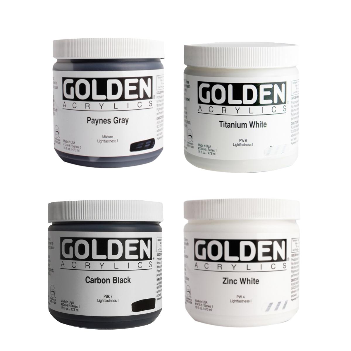 GOLDEN, Heavy Body, akrylmaling, 473 ml