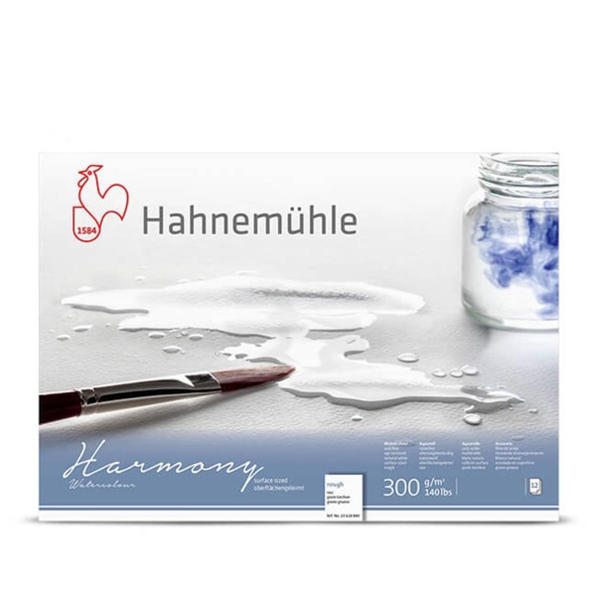 Hahnemühle, Harmony, Akvarel blok, rough, 300gr, A4, 12 ark
