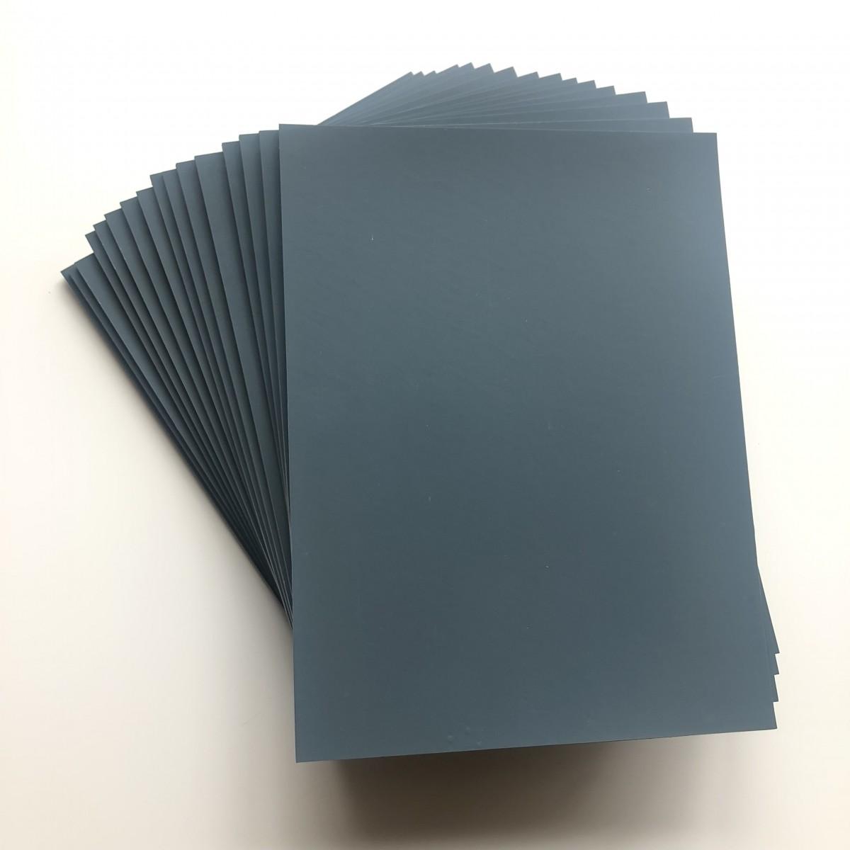 Linoleum, soft, grå, 16 stk