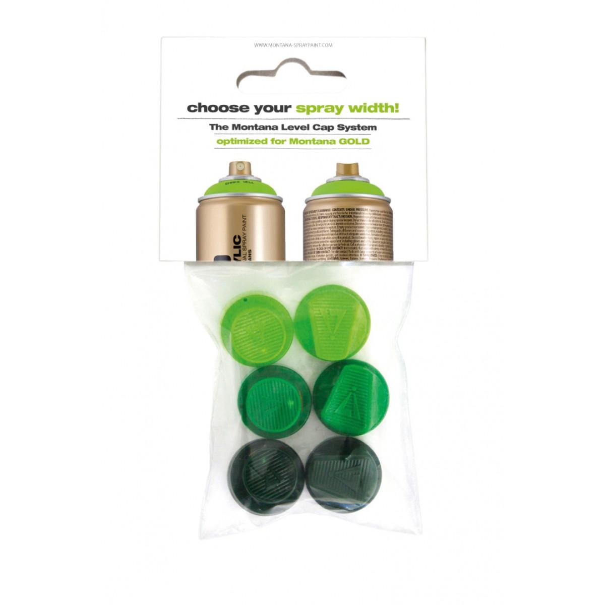 Montana Spray Caps - Levels 1-6
