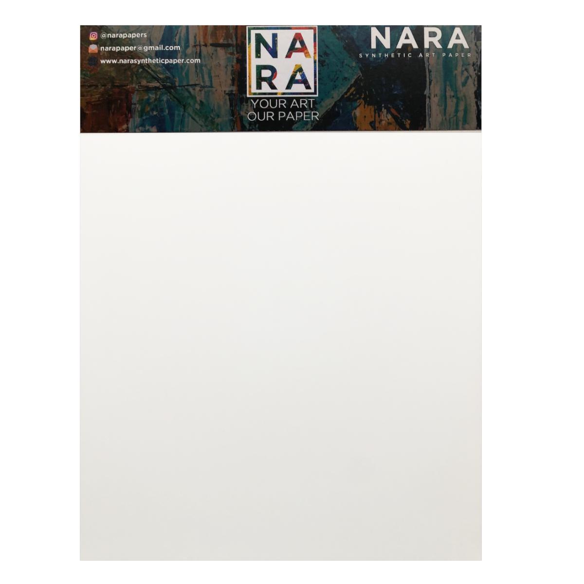 Nara papir, hvid, 10 ark, 200 g, 30,8 x 45,8 cm