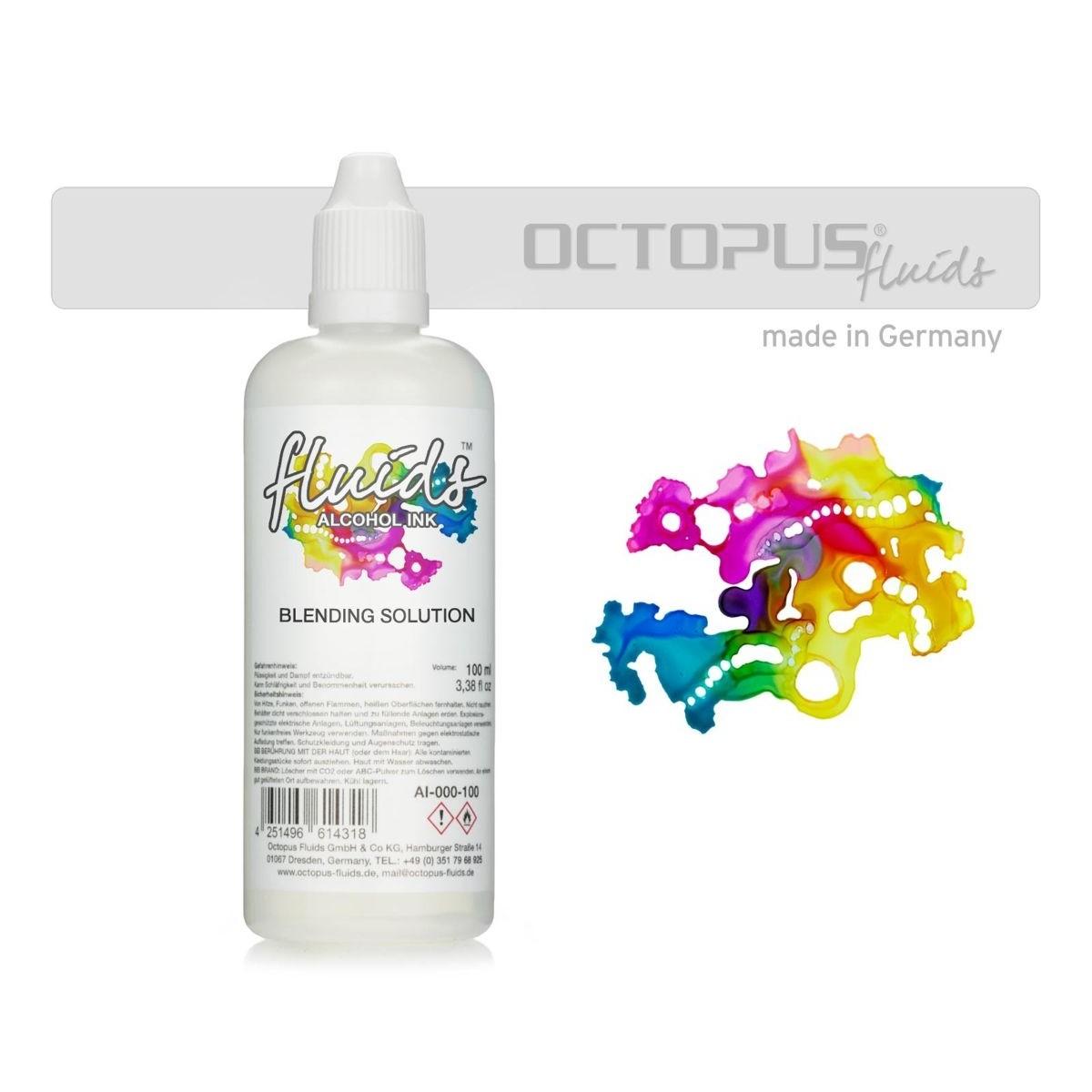Octopus Fluids, Blending Solution, 100 ml