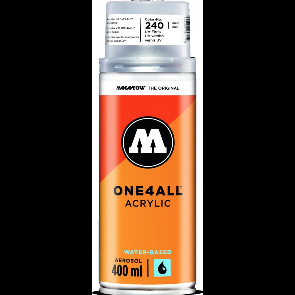 MOLOTOW, UV lak, mat, 400 ml.