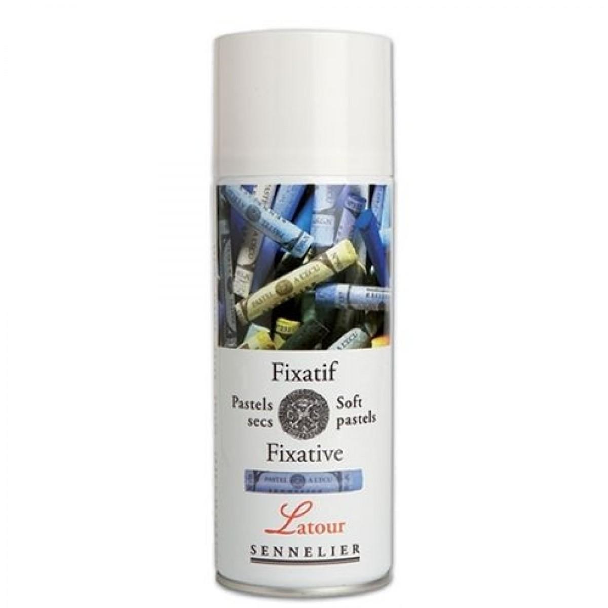 SENNELIER, Soft pastel fixativ, 400 ml