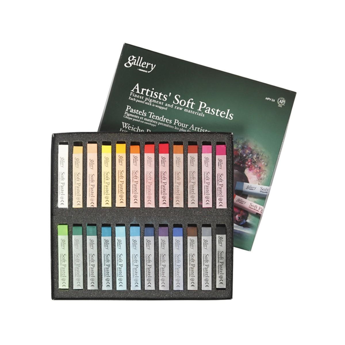 Gallery, Artists' Soft Pastels, colormix, sæt