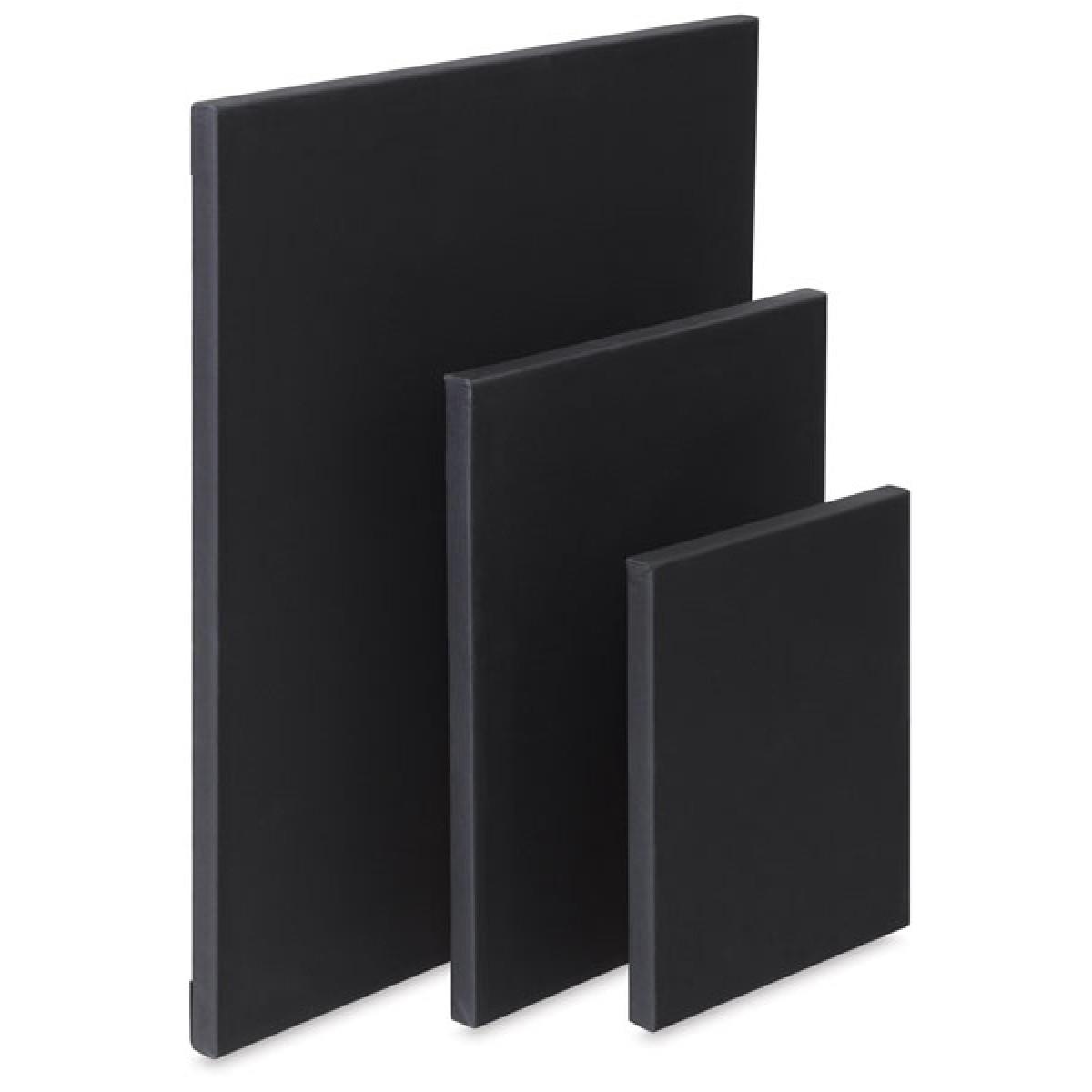 PROFI 2, lærred, 1,7 cm, sort