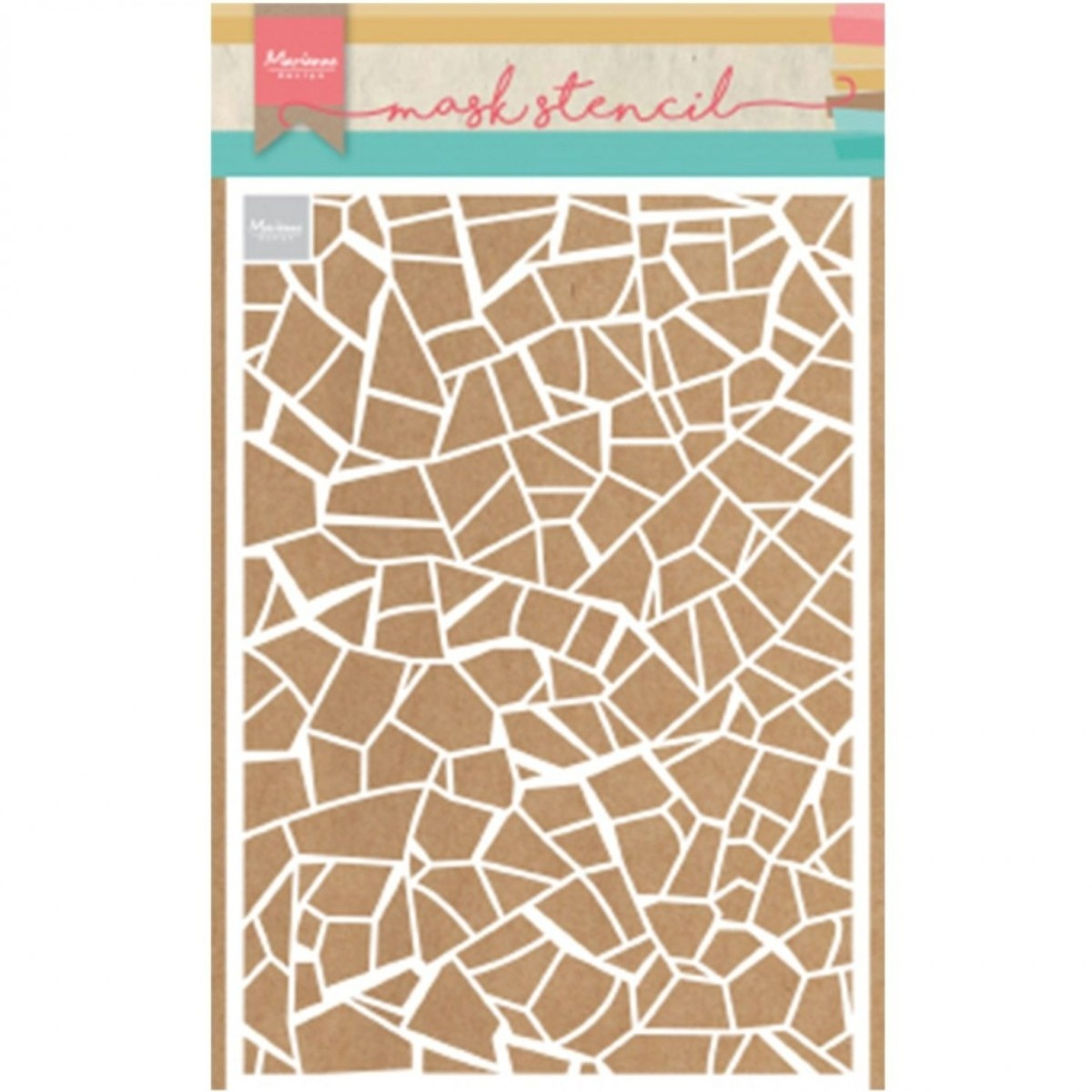 Stencil, 15 x 21, Broken tiles
