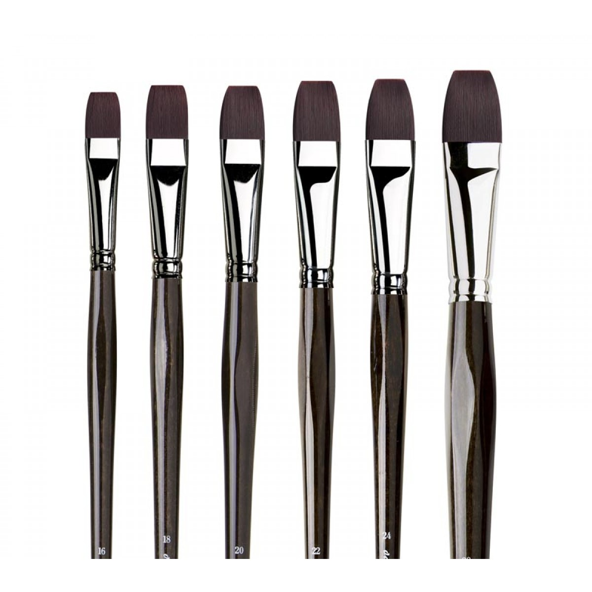 da Vinci, Top Akryl pensel, flad, syntetisk