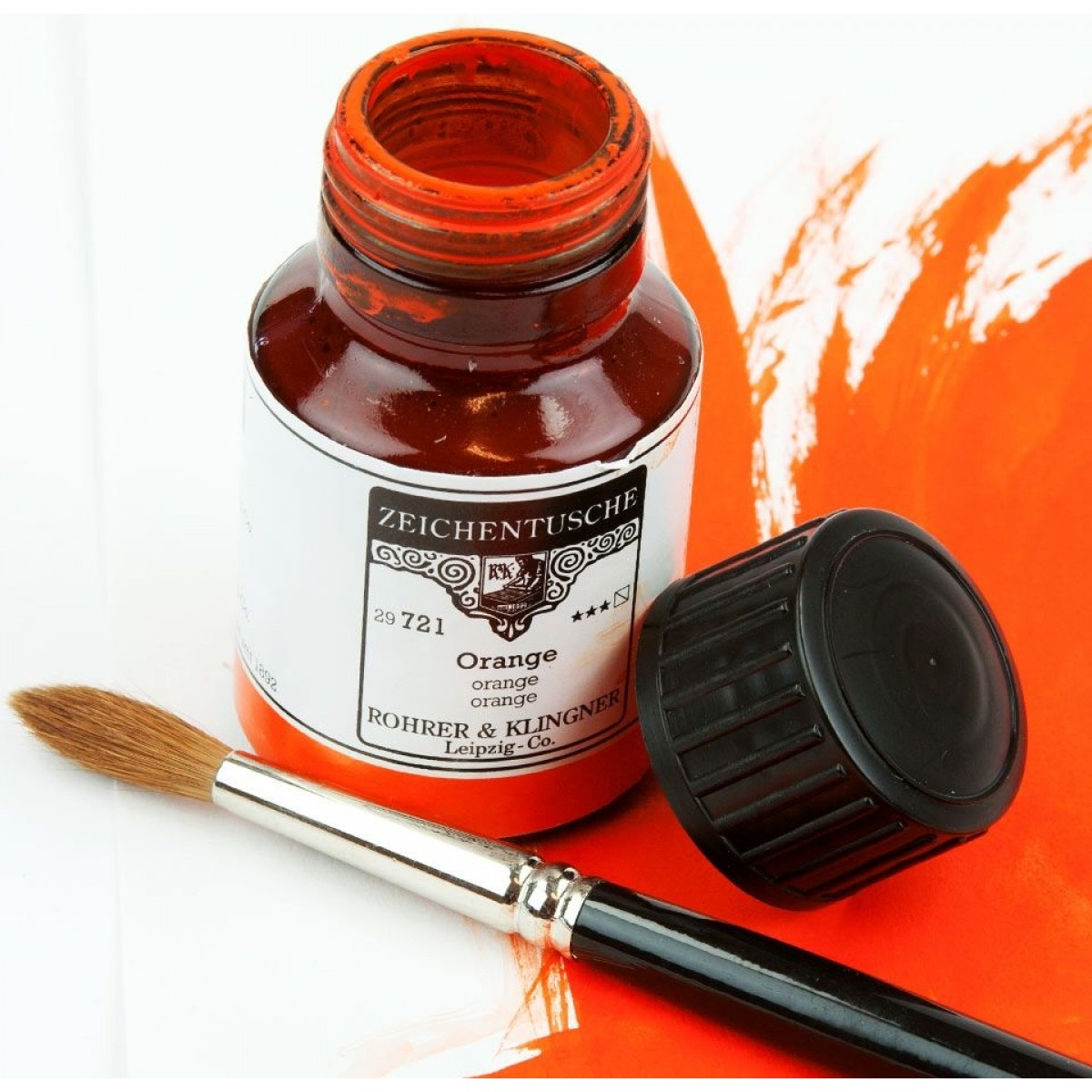 Rohrer & Klingner, Vandbaseret ink / tusch, 50 ml
