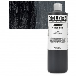 GOLDEN Fluid 473ml. Carbon Black