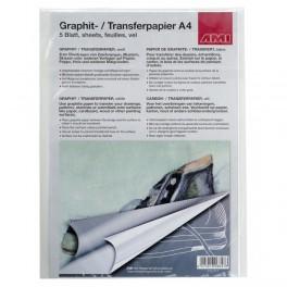 Grafit-/Transferpapir A4, hvid