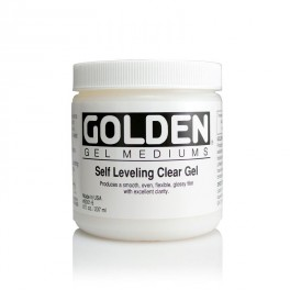 GOLDEN Clear Leveling Gel 237 ml.