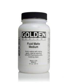 GOLDEN Fluid Matte Medium 473ml