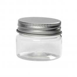 Plastdåse med låg, 35 ml, 10 stk.