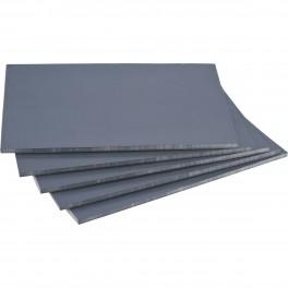 Linoleum, soft, grå