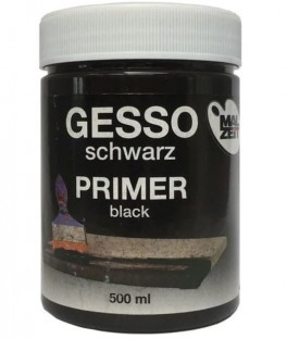 Sort Gesso, Malzeit, 500ml.