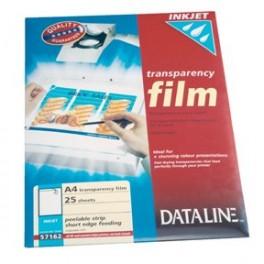 Transparent film til ink printer