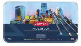Derwent Procolour farveblyanter, 72 stk.