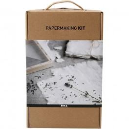 Papirfremstilling, papermaking kit, sæt