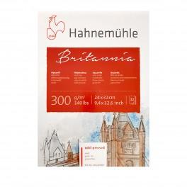 Hahnemühle Britannia Akvarel blok, cold pressed, 24x32cm., 300gr.