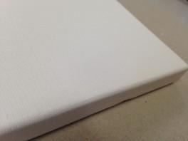 Vindelev lærred, tynd, 370g polyester/bomuld