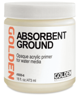GOLDEN Absorbent Ground White 237ml.