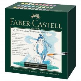 Faber Castell, Akvarel tusch, Abrecht Dürer, 30 stk. dobbelt tusch