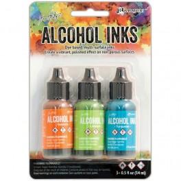 Ranger Alkohol ink Kit, 3 stk., Spring Break. FAST LAVPRIS