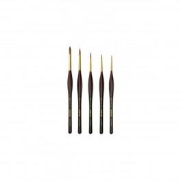 Kolinsky pensel, mårhår, sæt, A200
