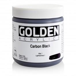 GOLDEN Heavy Body 473 ml. Carbon Black